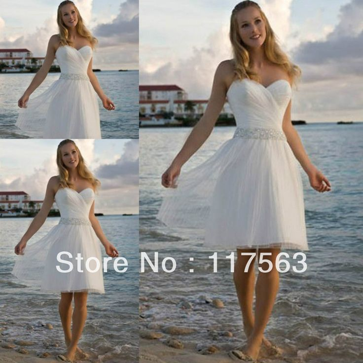 17 best images about destination wedding hawaii on for Wedding dress for beach ceremony