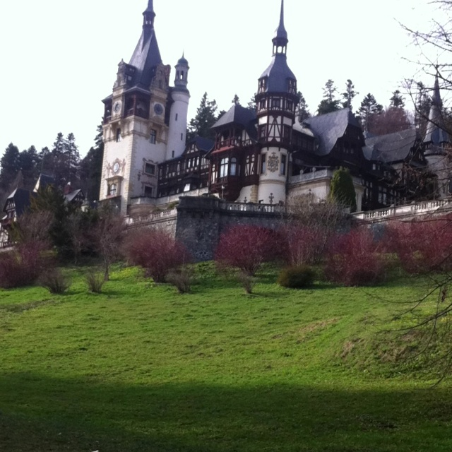 Peles Castle in Sinaia! One of the most signs left by the Royal Family of Romania