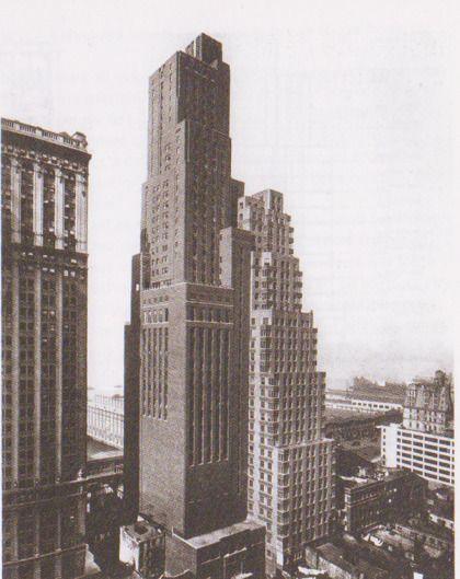 Downtown athletic club, Manhattan, New York via New York Délire, un manifeste rétroactif pour Manhattan écrit par Rem Koolhaas