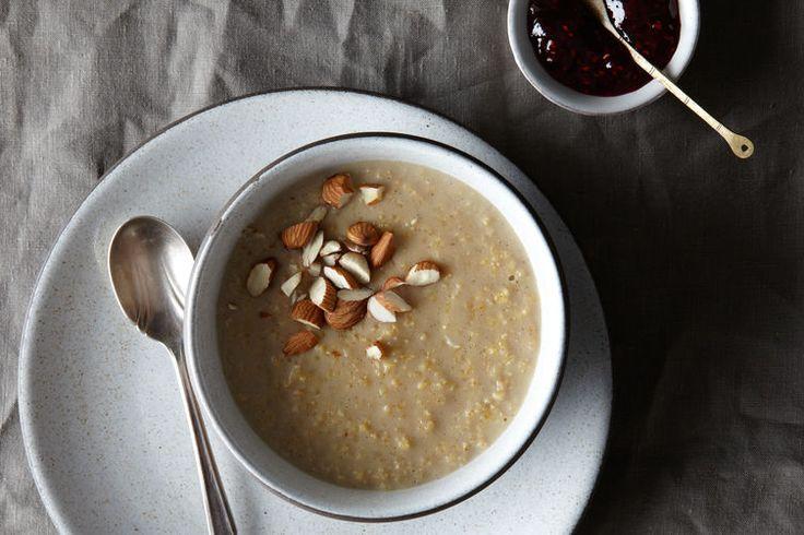 Creamy Coconut Milk Millet Pudding - Quinoa instead of millet!