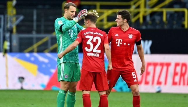 جوشوا كيميتش يحقق رقما قياسيا لبايرن ميونخ بسبب الكلاسيكو سبورت 360 حقق نجم فريق بايرن ميونخ جوشوا كيميتش رقما قياسي Manuel Neuer Bayern Munich Dortmund