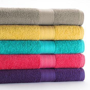 The Big One Brights Bath Towels #Kohls101
