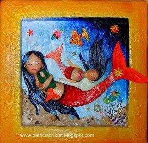 Madre Sirena e Hijas (Relieve)