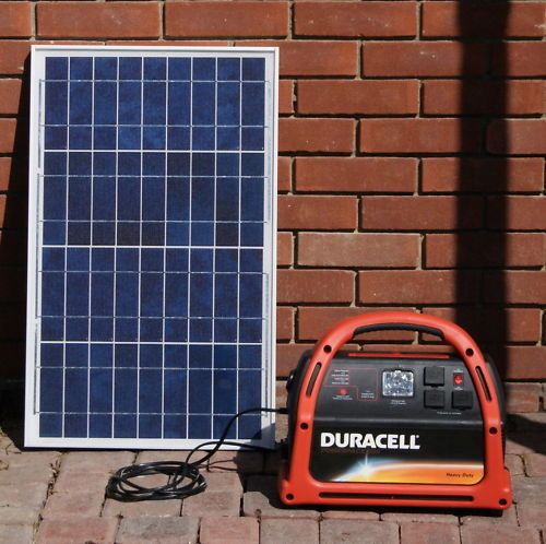 SOLAR generator for off the grid camping (Assateague)