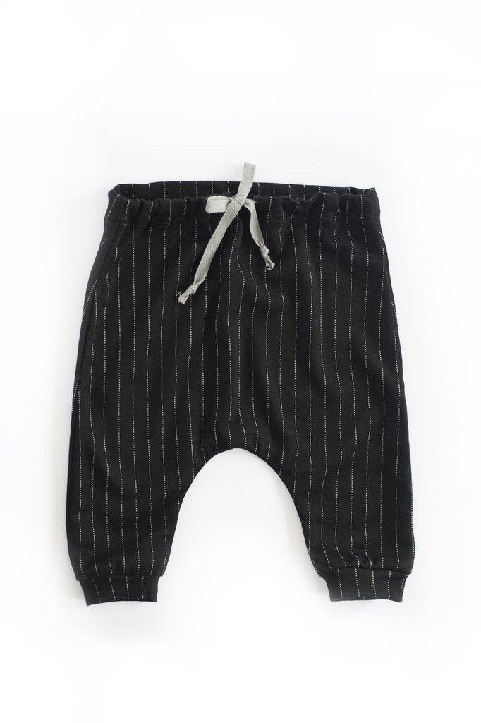 Zion Trouser in Charlie Pinstripe
