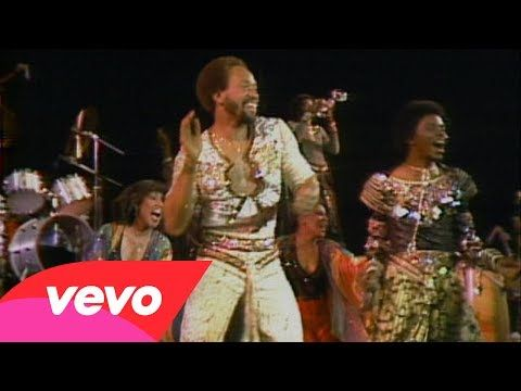 Boogie Wonderland - Earth, Wind & Fire.... This is definitely a good boogie down hit :)