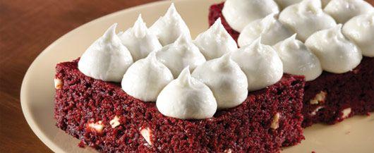 Red Velvet White Chocolate Chip Brownies