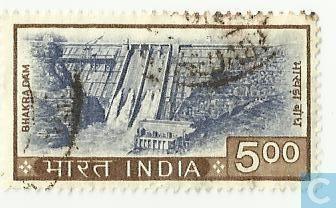 1995 1958 Barrage, Bhakra, Inde