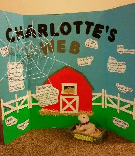 Charlotte's Web reading fair project