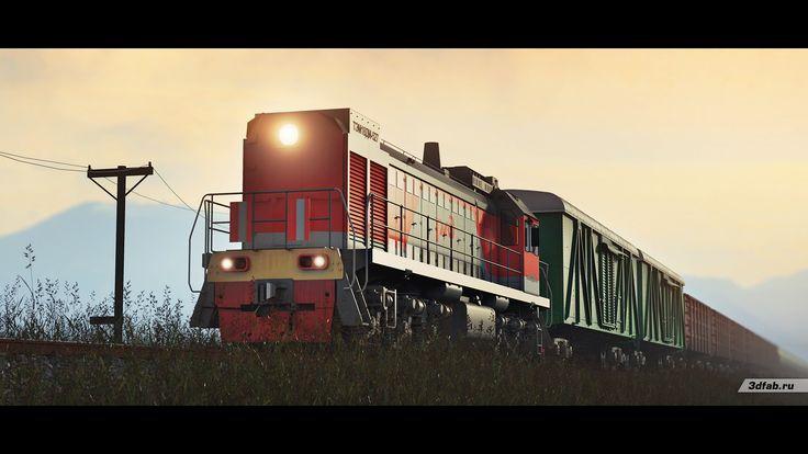 3DFAB. Modeling & render train TEM18DM