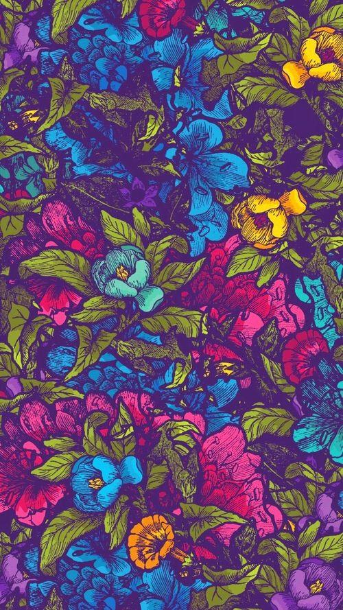 Imagen vía We Heart It #cute #flowers #girly #wallpaper