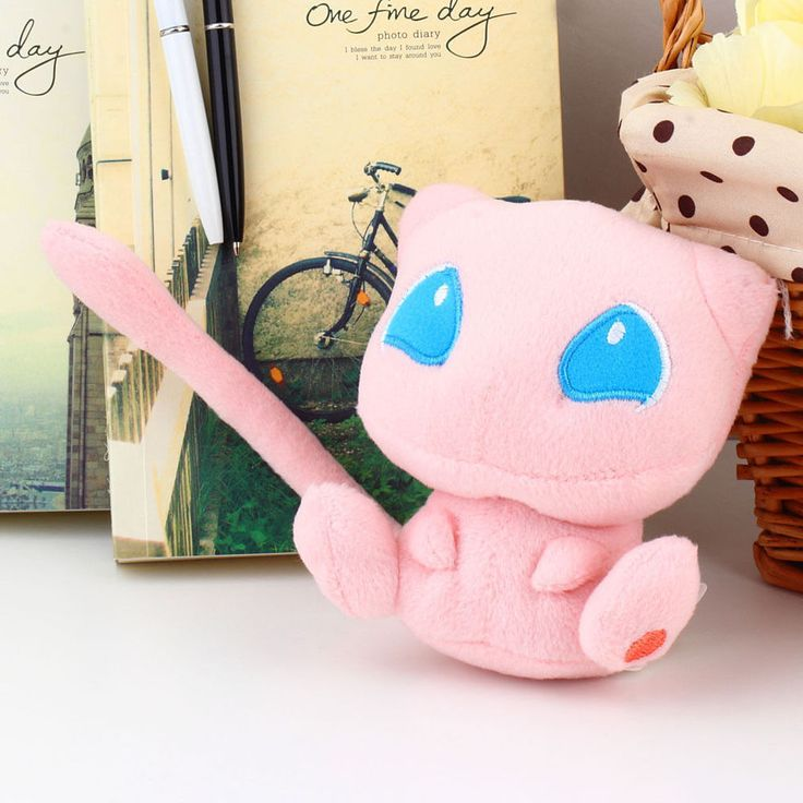 Cute Pokemon Rare Mew Plush Soft Doll Toy Gift Stuffed Animal Game Collect #Unbranded