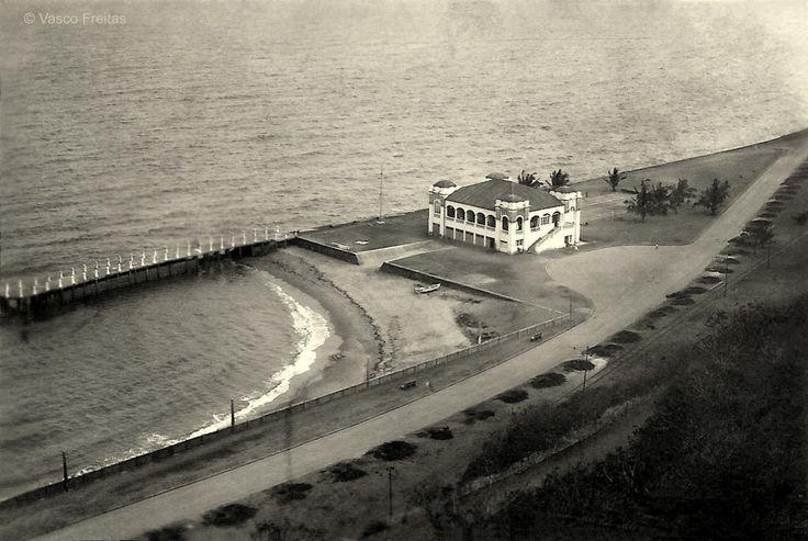 Fundado em Fevereiro de 1913, o Clube Naval de Lourenço Marques, aqui nos anos 20.