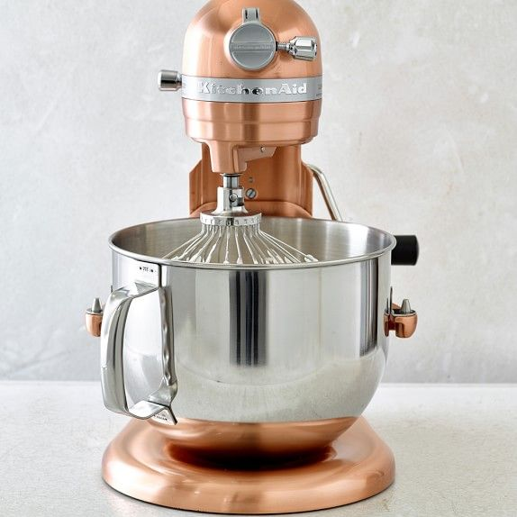 KitchenAid® Pro Line® Copper Stand Mixer, 7 Qt. | Williams-Sonoma