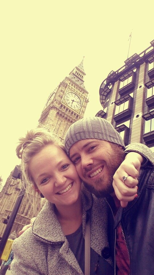 Gavin Popped the Big Question at the Big Ben ♡
