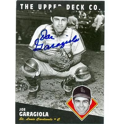 Joe garagiola #autographed #baseball card st louis #cardinals 1994 upper deck no.,  View more on the LINK: 	http://www.zeppy.io/product/gb/2/172103574320/
