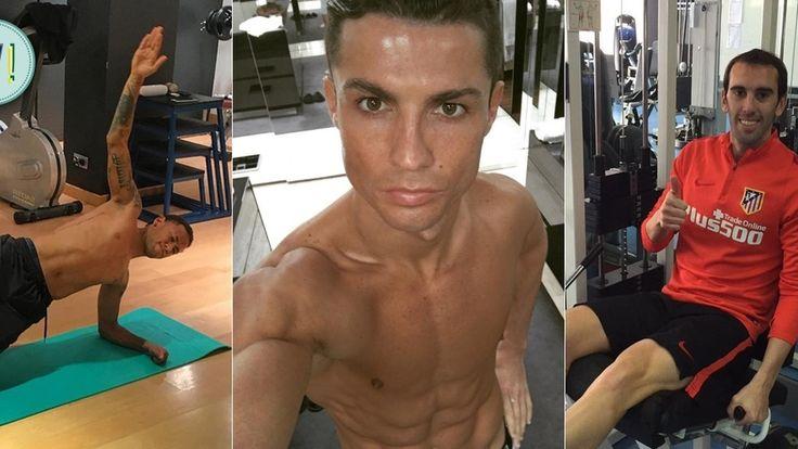 ¡Atiende! Ni crossfit, ni gym: 10 ejercicios de Neymar, Cristiano y otros cracks de la Liga con los que machacarás la 'Operación bikini'