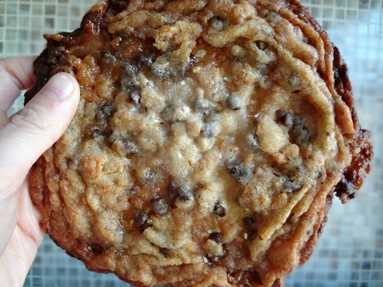 The Famous Momofukus Cornflake Chocolate Chip Marshmallow Cookies. These are one of the most amazing things. Crispy, buttery, sweet, complex, just amazing! Must try::