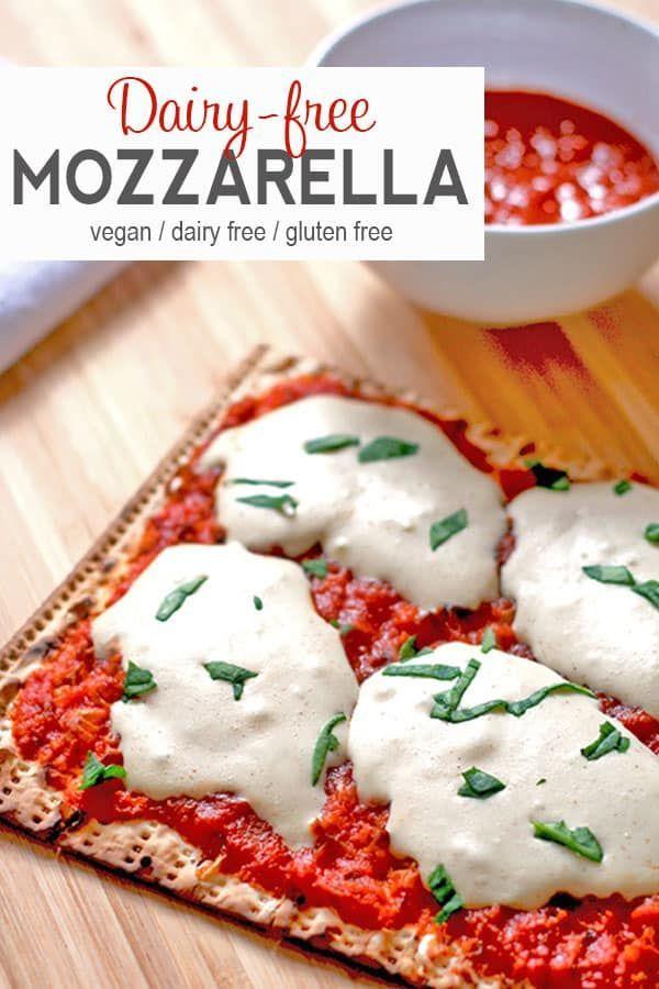Vegan Mozzarella Cheese Recipe Vegan Cheese Recipes Cheese Alternatives Delicious Vegan Recipes