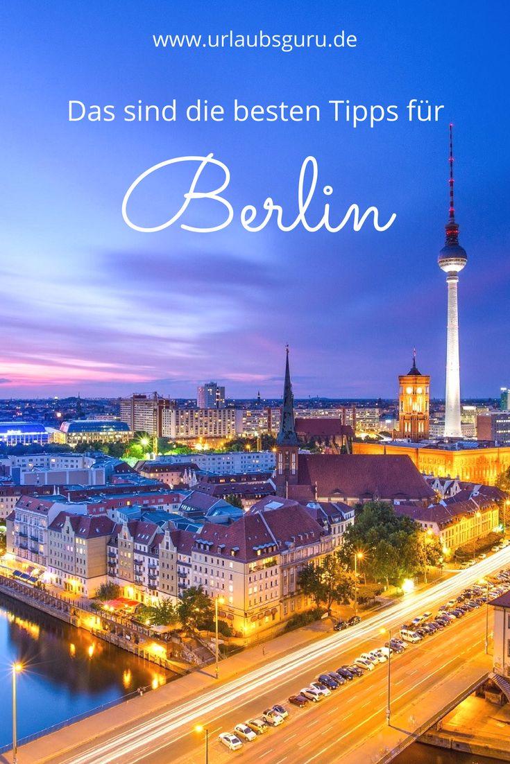 Alle Tipps & Infos für euren Urlaub im aufregenden Berlin! Alles über die Sehenswürdigkeiten, Events, Kultur und Unterkünfte, so wie tolle Insidertipps für die einzigartige Metropole!