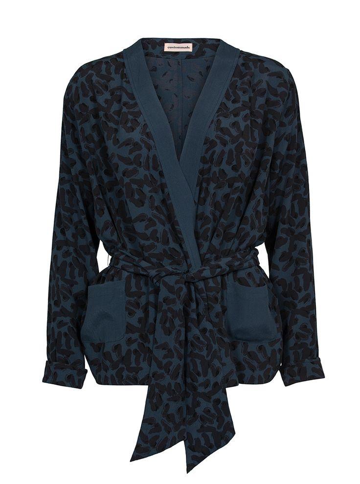 Pamala kimono bluse | Custommade.dk