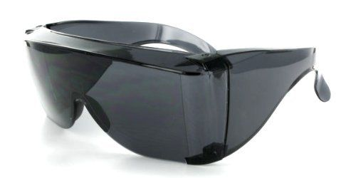 grinderPUNCH Cover-Ups Black Fit Over Sunglasses For People Who Wear Prescription Glasses