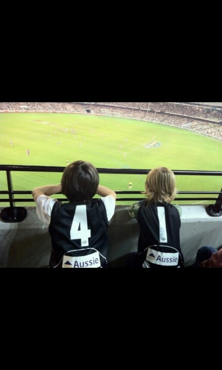 Aussie Rules . AFL. Collingwood Football Club