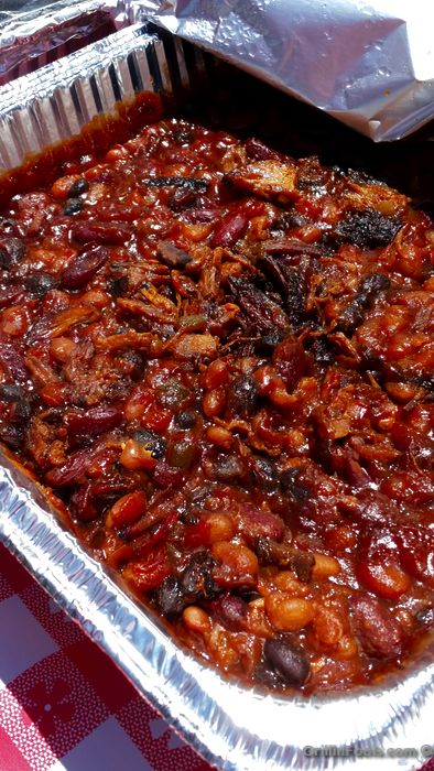 I take maybe the best smoked bean recipe on the planet and tweak it. Sorry, it's what I do. Either way, you will be highly impressed with how these smoked beans turn out.  | My Spin on Oklahoma Joe's Smoked Beans | https://grillinfools.com