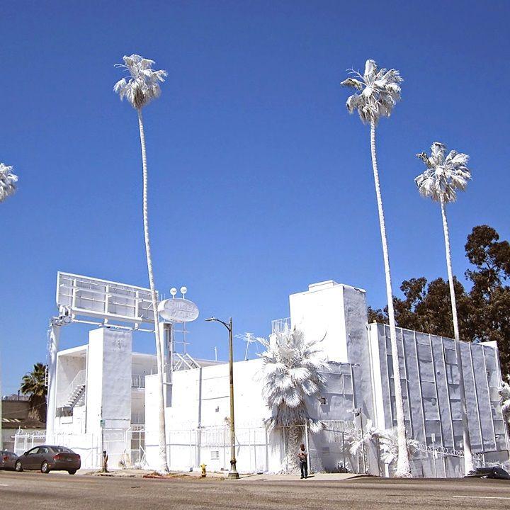 Bates Motel Painted White