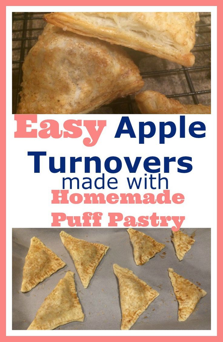 Want a delicious dessert that is sure to wow your guests? This easy to make apple turnover is a winner! Change it up and do a cherry or blueberry filling!