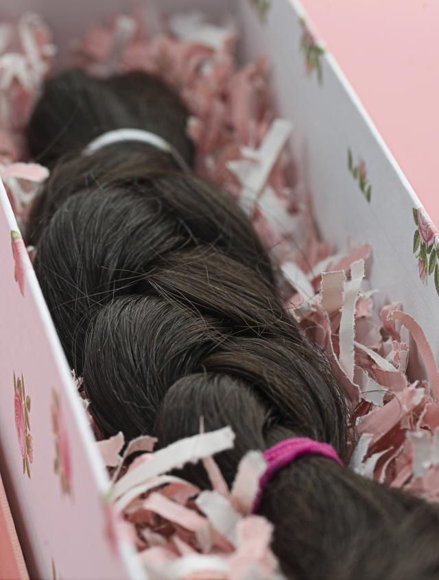 Donating hair is a wonderful way to help people with cancer. Where can you donate your hair? What are the advantages of human vs synthetic hair?