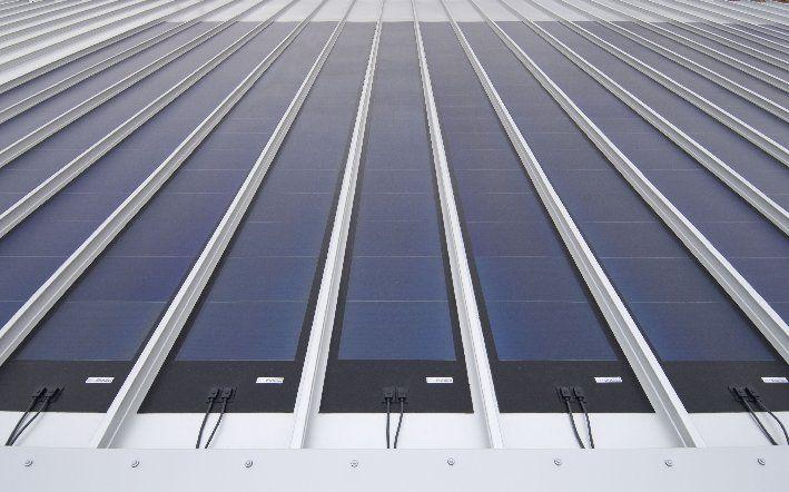 solar dakbaan