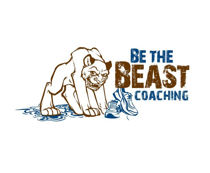 Logo for a triathlon coaching/motivational spea... Playful, Masculine Logo Design by blue eye