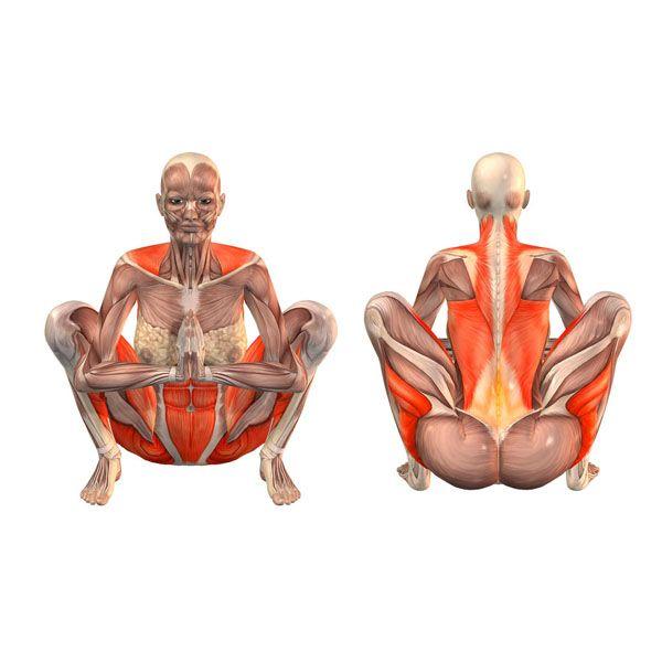 Garland pose - Malasana - Yoga Poses   YOGA.com