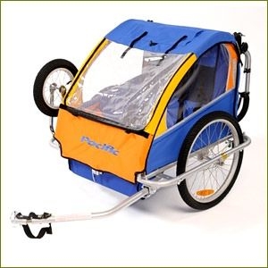 PACIFIC TRAILER/STROLLER, Bike Trailers $369, is a pram as well. But weighs 19kgs!