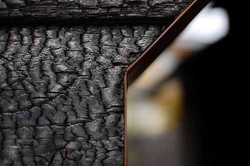 japanese charred wood - Google Search