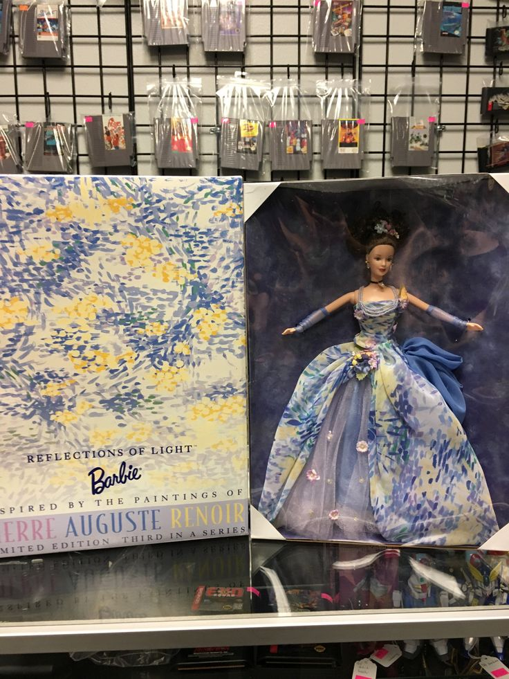 Mattel Barbie Reflections of Light-Pierre Auguste Renoir Doll