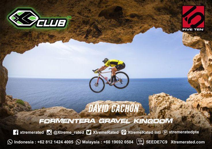 David Cachon in Formentera Gravel Kingdom  #xtremerated #xclub #fiveten #mtb #downhill #adventure #outdoor