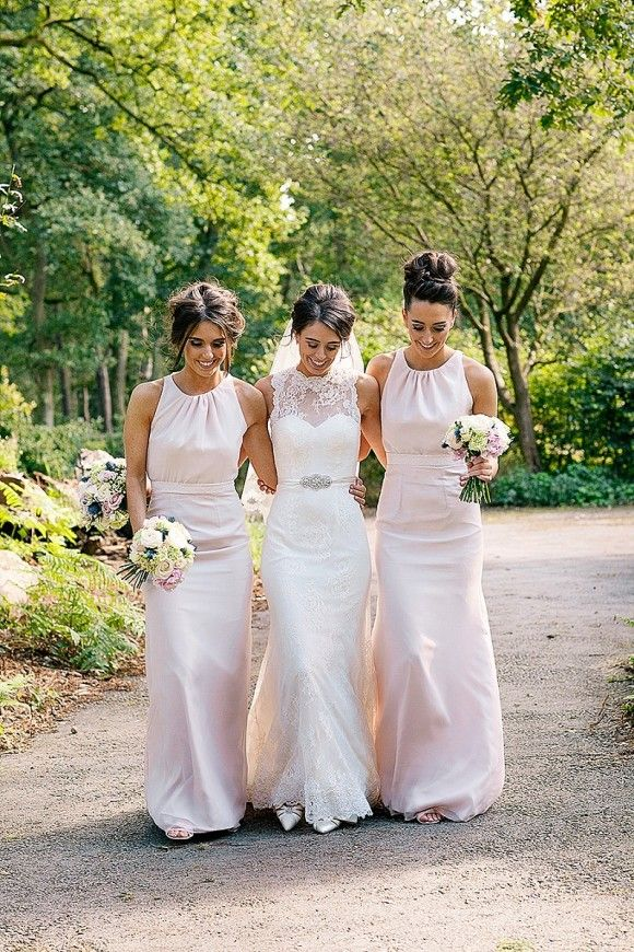Lusan Mandongus for a Beautiful Blush Wedding In Cheshire