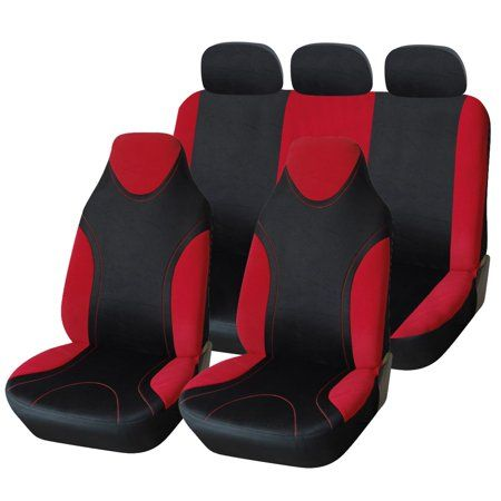 Auto Tires Seat Covers Red Interiors Golf Cart Seat Covers
