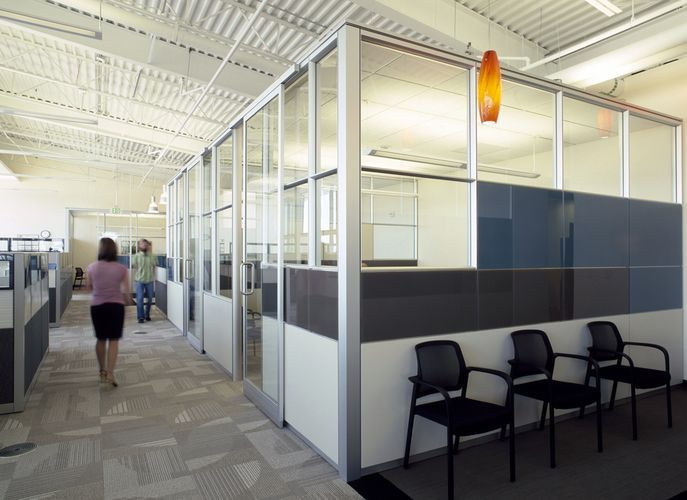 Dirtt Environmental Solutions Combination Walls Taking