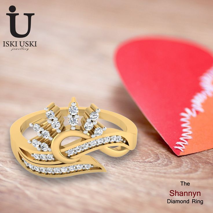 IskiUski offers latest designer Wedding & Engagement Rings!!.  Buy Solitaire, Diamond, Gemstone Rings online for Women & Girls.  #DiamondRings #GoldRings #Rings #IskiUski