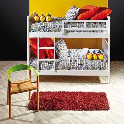 Un espacio lleno de estilo para los más pequeños de la casa.