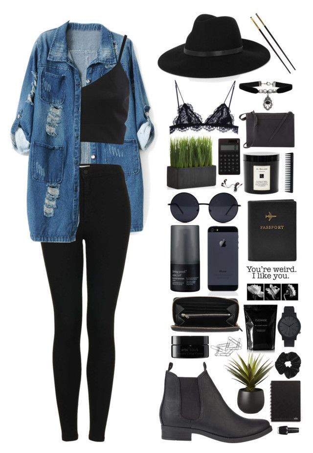 """#106 - Casual Day With Friends"" by lolohohokoko ? liked on Polyvore featuring beauty, Chicnova Fashion, SPURR, Topshop, 3.1 Phillip Lim, Muji, FOSSIL, Versace, Komono and Retrò Nail Design, Nail Art"