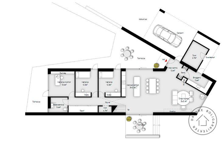 Plan over huset