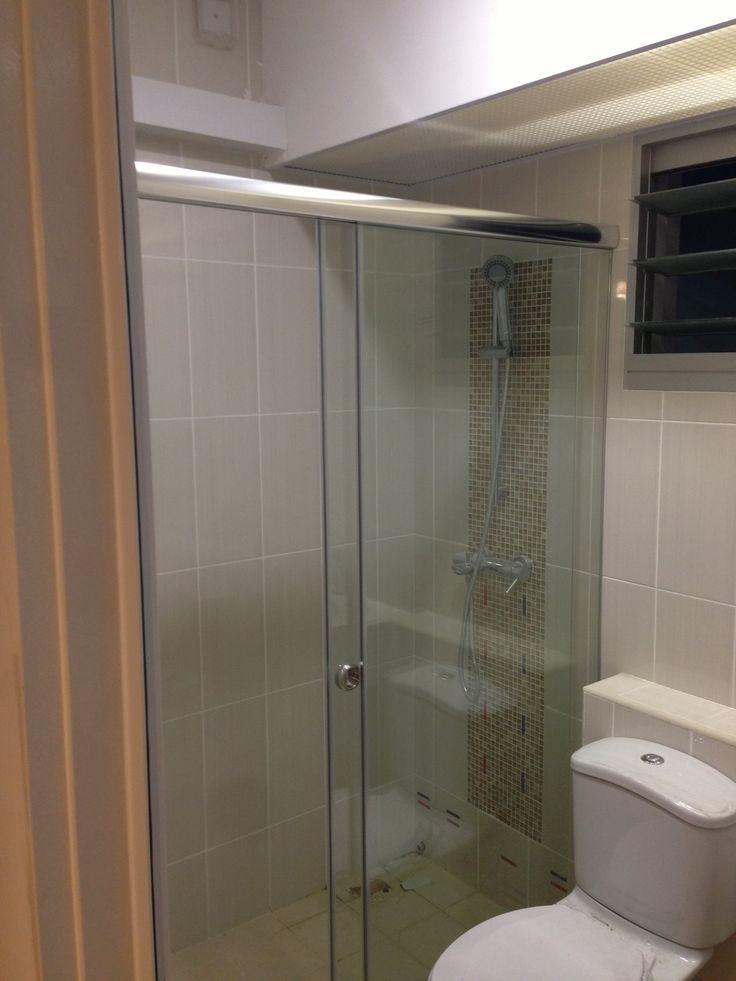 Sliding Shower Screen Intradesign Sliding Shower