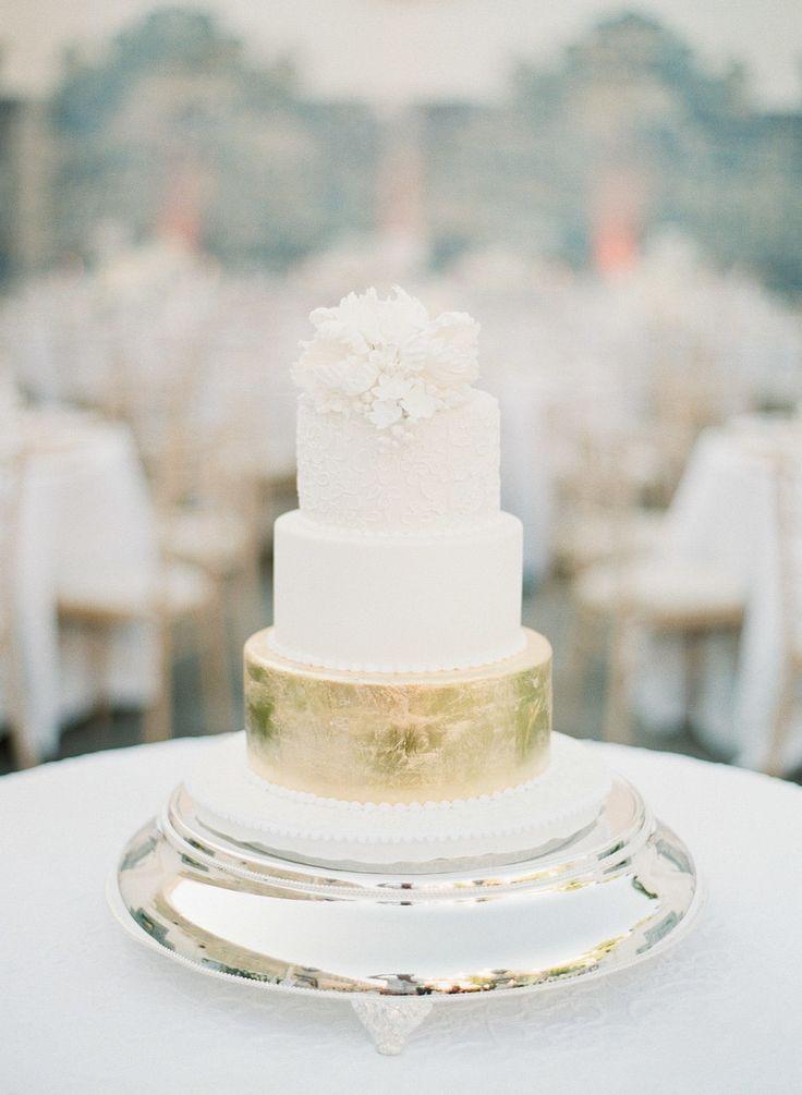 Wedding Cake: Julie Deffense - www.cake.pt Photography: Greg Finck - www.gregfinck.com    View more: http://stylemepretty.com/vault/gallery/38304