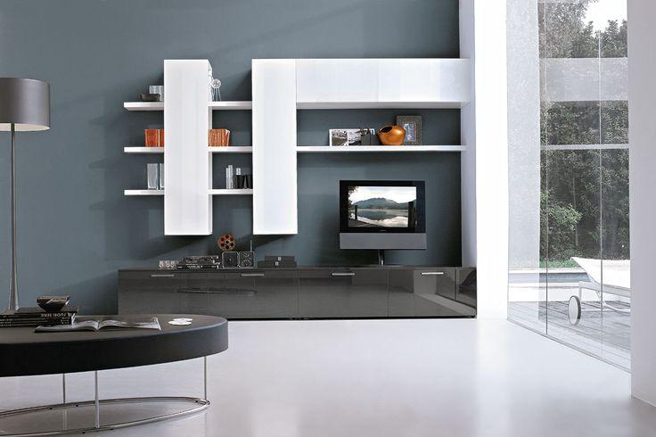 Composizione C126 per l'#arredamento moderno della zona living | gruppotomasella.it