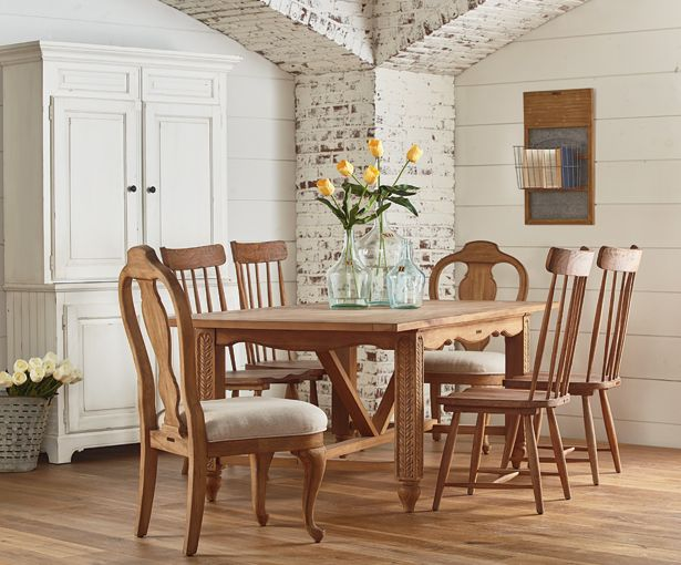 From the new magnolia home furnishings line by joanna for Dining room joanna gaines