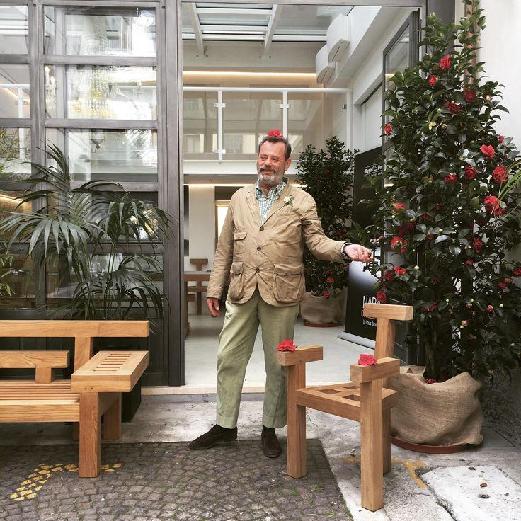NARA collection by Louis Benech for Royal Botania.Via Savona. Milan